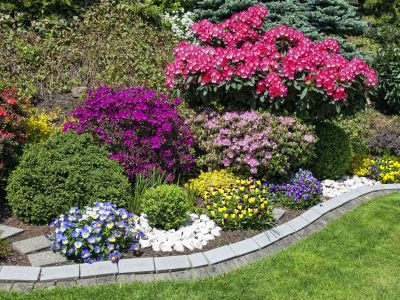 Flower Bed Landscaping In Dallas TX